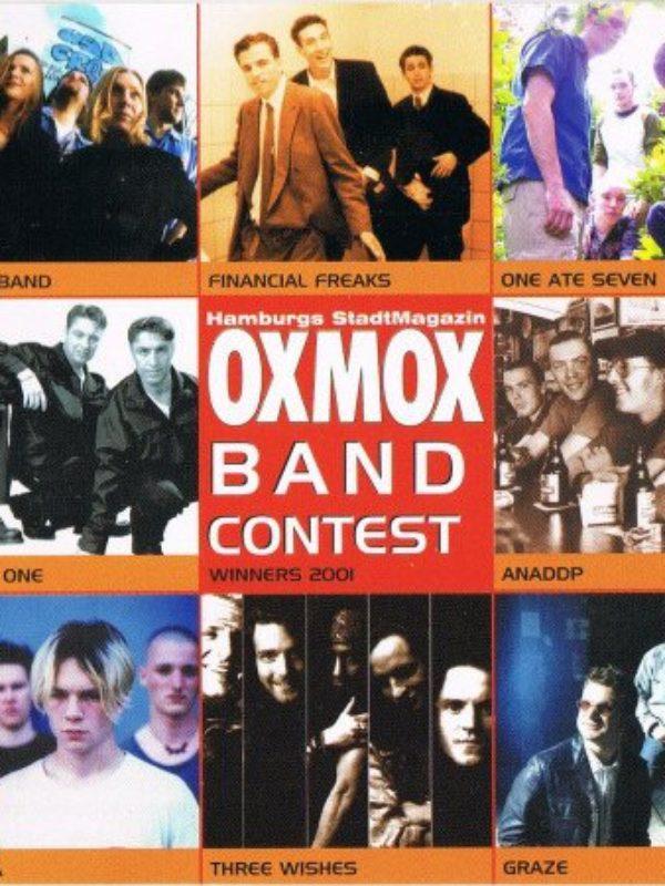 CD Bandcontest 1 - CD OXMOX BANDCONTEST